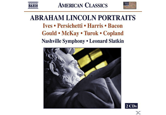 Nashville Symphony, Slatkin/Nashville SO - Abraham Lincoln Portraits - (CD)