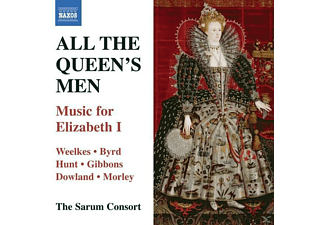 The Sarum Consort - All The Queen's Men - (CD)