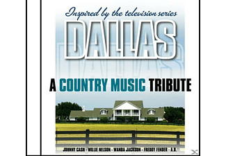 VARIOUS, Dallas (various) - A Country Music Tribute-Inspired By - (CD)