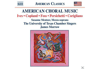 VARIOUS, Morrow/University Of Texas - Amerikanische Chormusik - (CD)
