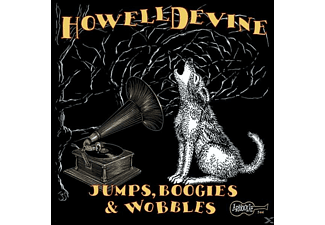 Howelldevine - JUMPS,BOOGIES & WOBBLES - (CD)