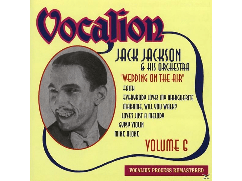 Jack & His Orchestra Jackson - Vol.6. Wedding On The Air [CD]
