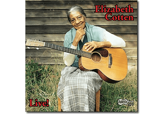 Elizabeth Cotten - Live! - (CD)