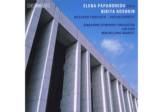 Papandreou/Singapore SO/Shui/N, Papandreou/Liakakis/Shui/Singapore SO/New Hellenic - Werke für Gitarre - (CD)