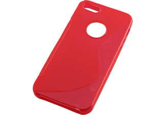 AGM 25989 Backcover Apple iPhone 5, iPhone 5s Kunststoff Rot
