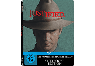 Justified - Die komplette Staffel 6 (Steelbook) [Blu-ray]