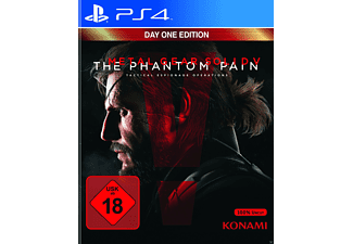Metal Gear Solid 5-Phantom Pain D1 - PlayStation 4