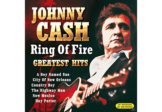 Johnny Cash - Ring Of Fire - Greatest Hits - (CD)