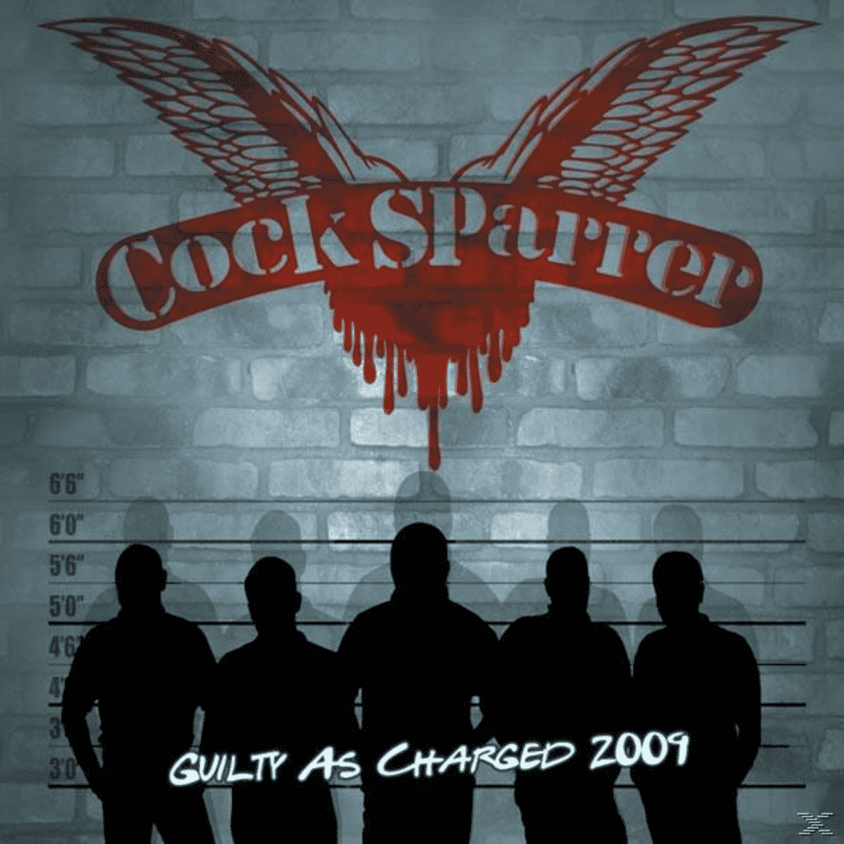 GUILTY AS CHARGED 2009 Cock Sparrer auf CD