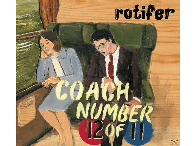 Rotifer - Coach Number 12 of 11 [CD]