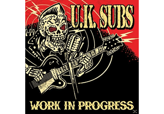 Uk Subs - Work In Progress [CD]