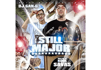 Dj G - Still Major,hosted by Kool Savas - (CD)
