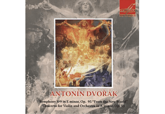 Nikolai Anosov - Concerto for Violin and Orchestra in A minor. Op.53 Antonin - (CD)
