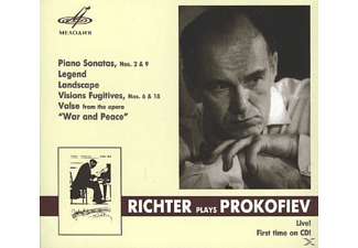 Svyatoslav Richter - Sonaten 2 & 9/Visions Fugitives op.22 - (CD)