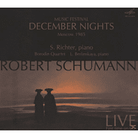 Borodin Quartet, Sviatoslav Richter, Berlinskaya, Richter/Berlinskaya/Borodin Quartet - December Nights,Konzert 1985 [CD]