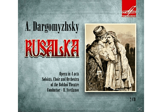 E. & CHOIR AND ORCHESTRA OF THE BOLSHOI T Svetlanov - Rusalka - (CD)