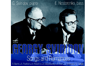 Georgy Sviridov - Songs & Romances/ G. Sviridov & E. Nesterenko - (CD)