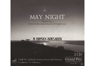 K. Lisovsky, L. Sapegina, Choir An Ussr Tv And Radio Soloists - May Night - (CD)