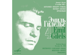 Emil Gilels - GILELS EDITION VOL.4-SONATEN - (CD)