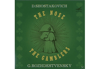 Leningrad Philharmonic Orc - The Nose, The Gamblers - (CD)