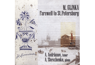 Alexander Shevchenko - Glinka: Farewell to St Petersburg - (CD)