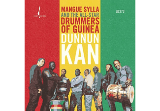 Mangue And The All-star Drummers Of Guinea Sylla - Dunnun Kann - (CD)