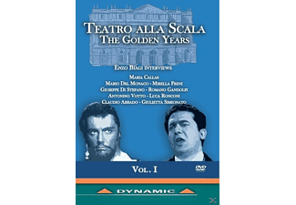 VARIOUS - Teatro Alla Scala: The Golden Years - (DVD)