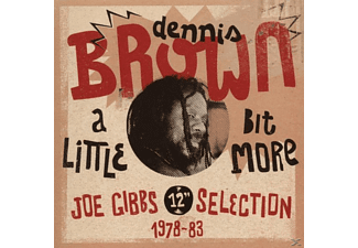 Dennis Brown - A Little Bit More (12Inch Selection) - (CD)
