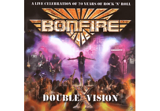 Bonfire - Double X Vision-Live (CD) - (CD)