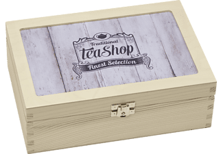 CONTENTO 866380 Traditional Tea-Shop Finest Selection Teebox