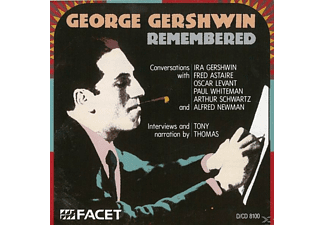 Interview & Narrateur Tony Thomas, Gershwin,Ira/Astaire,Fred/+ - George Gershwin Remembered - (CD)