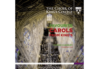 King's College Choir - Favourite Carols From King's [CD]