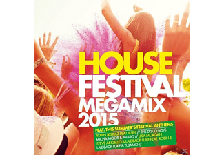 VARIOUS - House Festival Megamix 2015 - (CD)