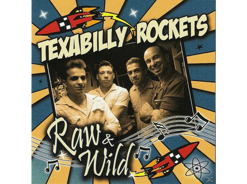The Texabilly Rockets - Raw & Wild [CD]