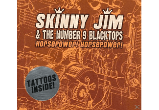 Skinny Jim & The Number 9 Blacktops - Horsepower! Horsepower! [CD]