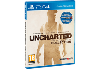 Pack PS4 Uncharted 4 + Consola - Sony - PS4 Negra, 1TB, Dualshock 4 - Exclusiva Media Markt