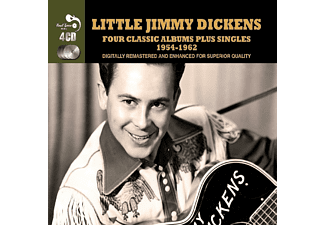 Little Jimmy Dickens - 4 Classic Albums Plus - (CD)