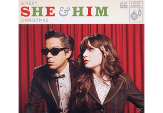 HIM, She & Him - A Very She & Him Christmas - (CD)