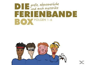 Die Ferienbande-Box - 7 CD - Humor/Satire