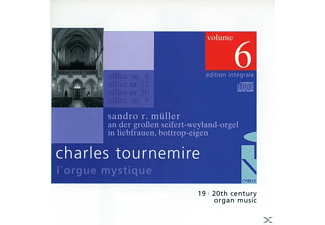 SANDRO R. Mueller - L'Orgue Mystique Vol.6 - (CD)