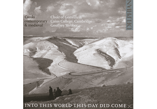 Gonville & Caius Coll.Choir Cambridge/Webber - Into This World This Day Did Come - (CD)