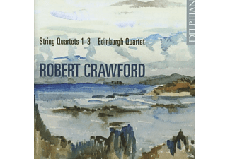 The Edinburgh Quartet - Streichquartette 1-3 - (CD)