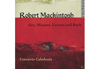 Concerto Caledonia - Airs,Minuets,Gavotts And Reels - (CD)