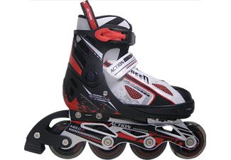 ACTION Paten M 35 38 Inline PW 132B 23 Red ABEC 5
