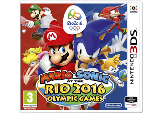 Mario and Sonic at the Rio 2016 Olympic Games Nintendo 3DS