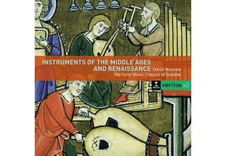Early Music Consort, David Munrow - Instruments Of The Middle Ages And Renaissance - (CD)