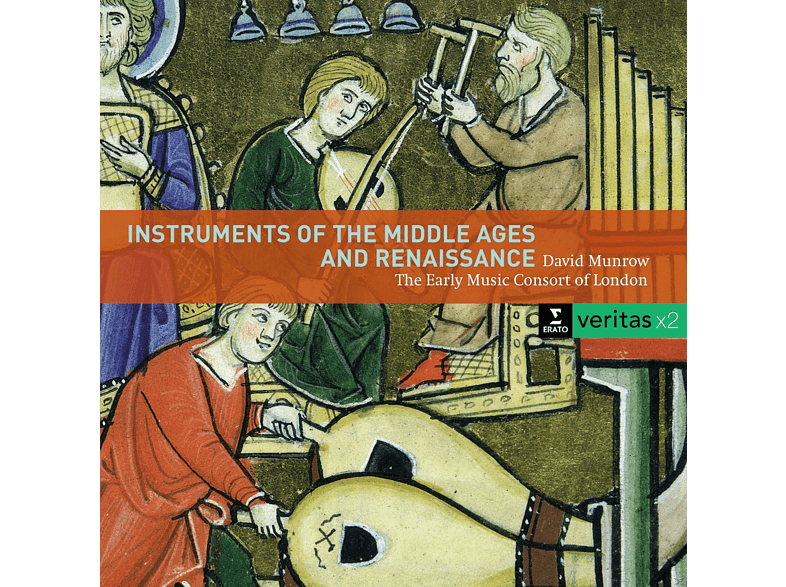 Early Music Consort, David Munrow - Instruments Of The Middle Ages And Renaissance [CD]