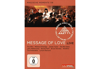 VARIOUS, Rock And Roll Hall Of Fame - RRHOF - MESSAGE OF LOVE - (DVD)
