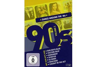 VARIOUS - Dance Around The 90's Vol.2 - (DVD)