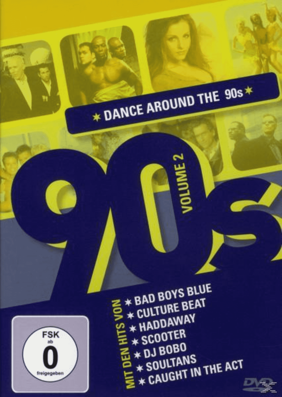 Dance Around The 90´s Vol.2 VARIOUS auf DVD